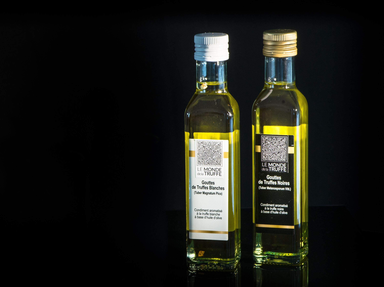 Huile d'olive à la truffe noire 250ml