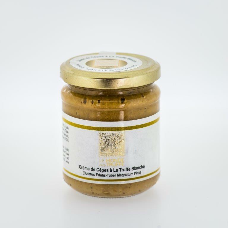 Crème de cèpes à la truffe blanche 200g